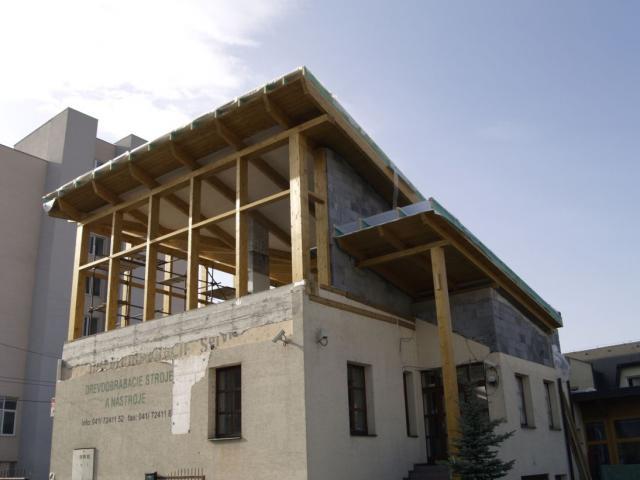 Drevená lepená konštrukcia, lepené lamelové nosníky - Expanzia, Firma Král