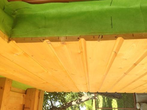 Drevená lepená konštrukcia, lepené lamelové nosníky - Rodinný dom Liptovský Mikuláš