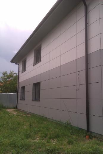 Drevená lepená konštrukcia, lepené lamelové nosníky - RD Liptovský Mikuláš