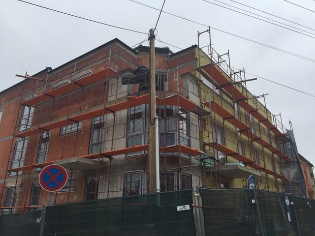 Drevená lepená konštrukcia, lepené lamelové nosníky - BD Ružomberok